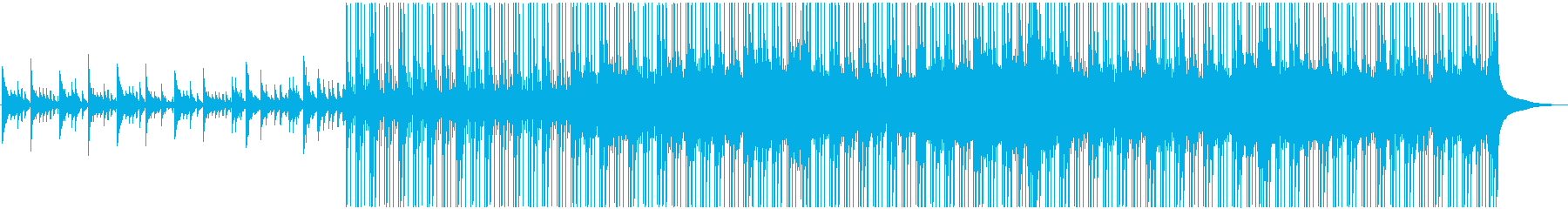 喪失感が溢れるようなピアノとストリングスの再生済みの波形