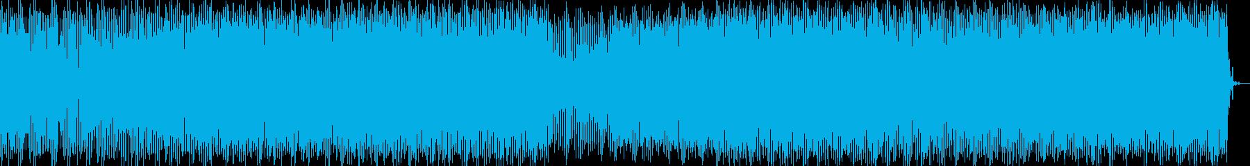 プログレッシブハウス。バックグラウ...の再生済みの波形