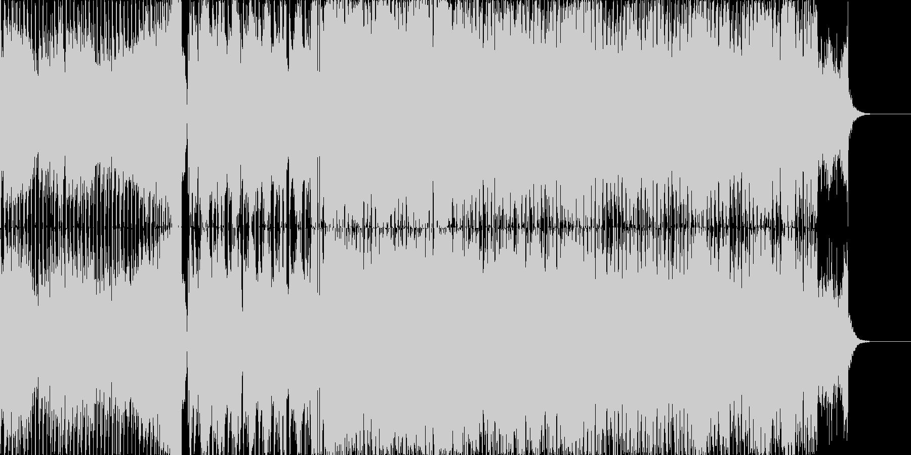 かっこ四分打ちEDM VOサンプル入りの未再生の波形