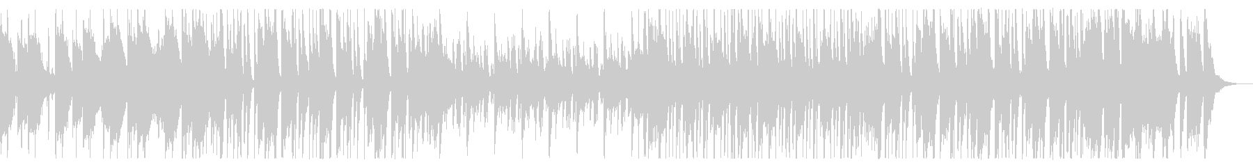 軽快でリズミカルなジャズ系ポップの未再生の波形
