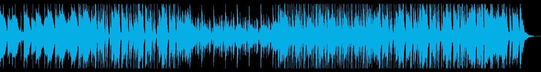 軽快でリズミカルなジャズ系ポップの再生済みの波形