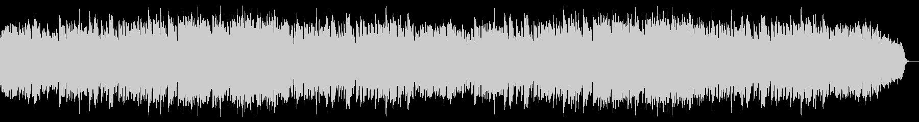 ピアノと鉄琴中心の明るく疾走感あるワルツの未再生の波形