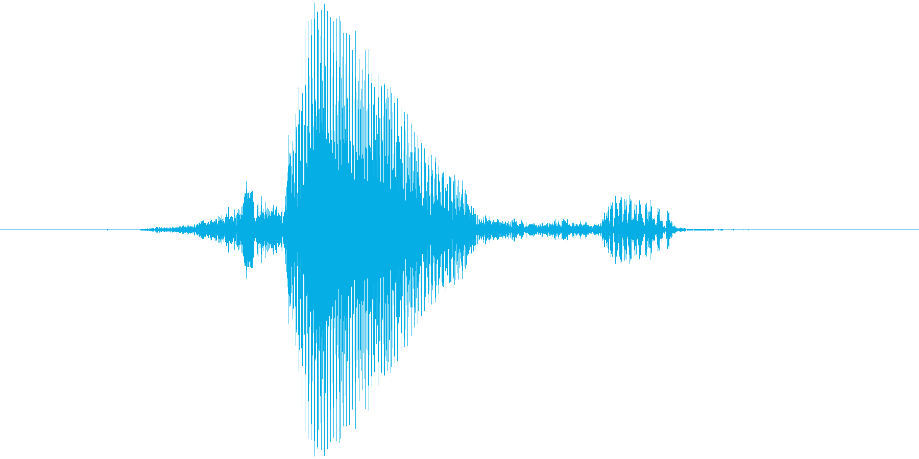セーフの再生済みの波形