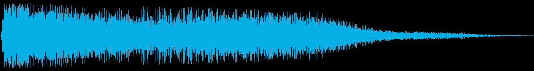 パワーブラストエンハンサーウーシュの再生済みの波形