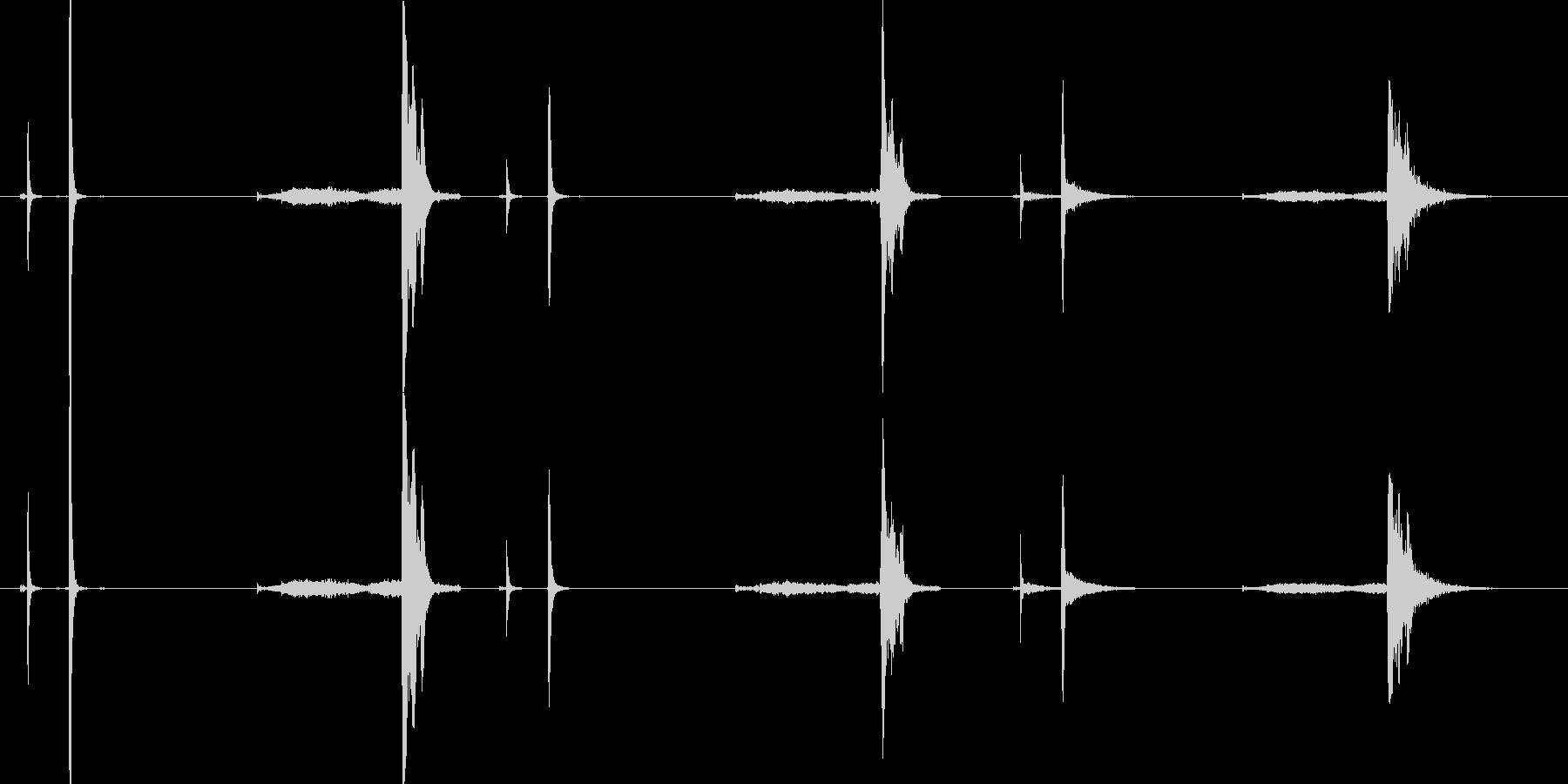 クリンクス、スプリング、3ルーム;...の未再生の波形