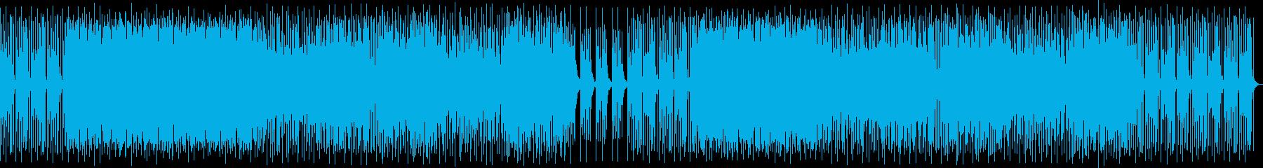 浮遊感・不思議・リズミカルにあうポップスの再生済みの波形