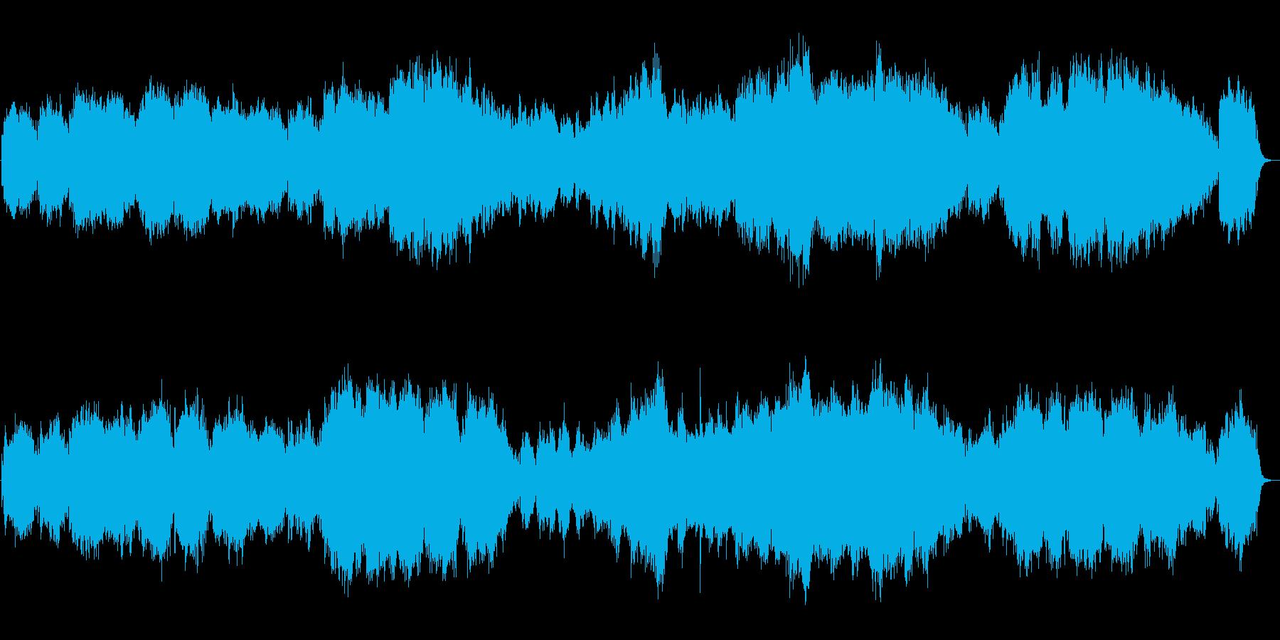 生演奏 優しく感動的なトランペットの再生済みの波形