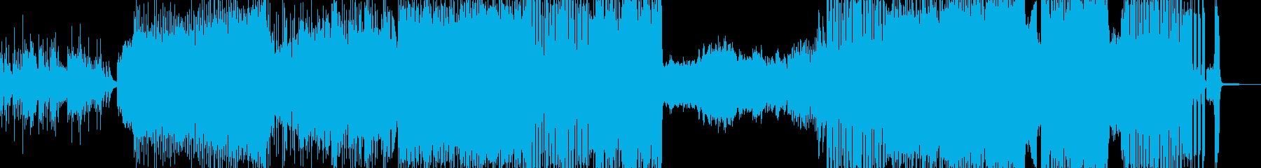 魔物・迫りくる激速テクノ シンセ強化版+の再生済みの波形