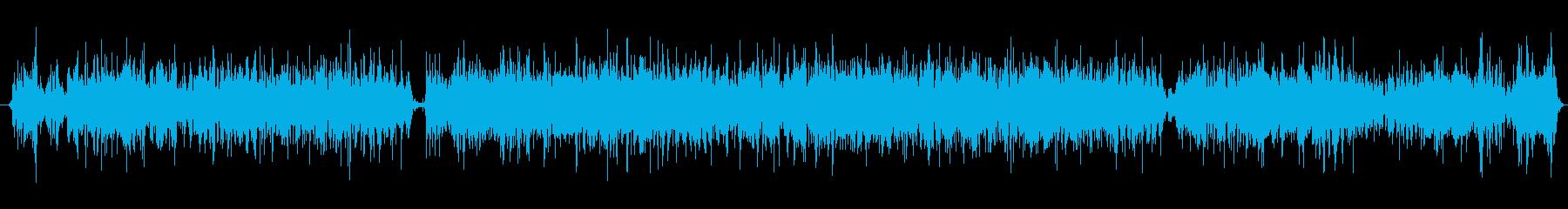 火 バースト06の再生済みの波形