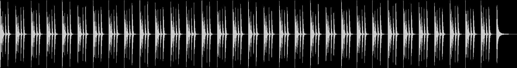 動物・戯れる・日常・シンプル・ピアノソロの未再生の波形