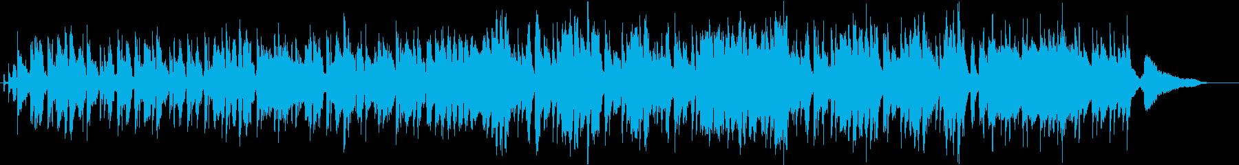 優しいムードのお洒落なフレンチボサノバの再生済みの波形