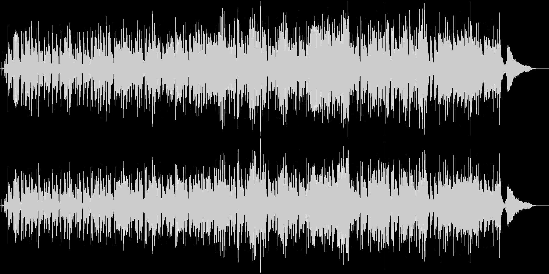 優しいムードのお洒落なフレンチボサノバの未再生の波形
