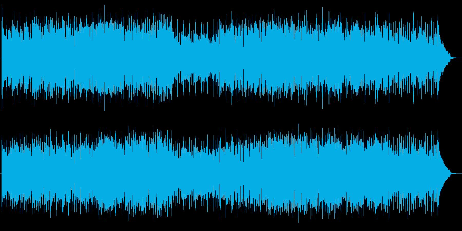 疾走感が爽やかなグルーヴのフォークロックの再生済みの波形