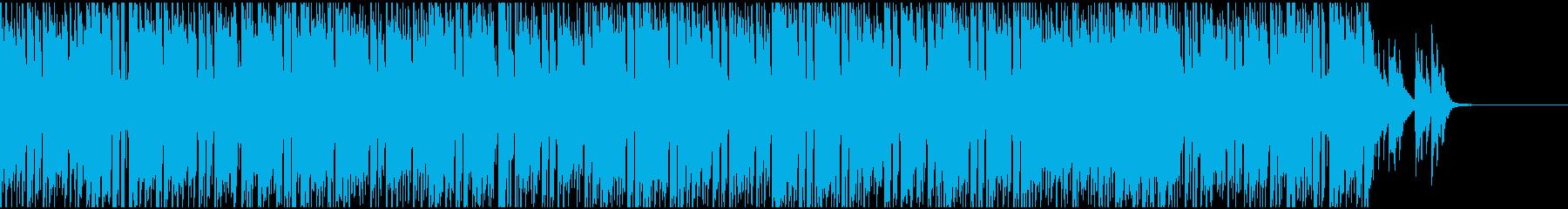 現代のアメリカンポップスの再生済みの波形