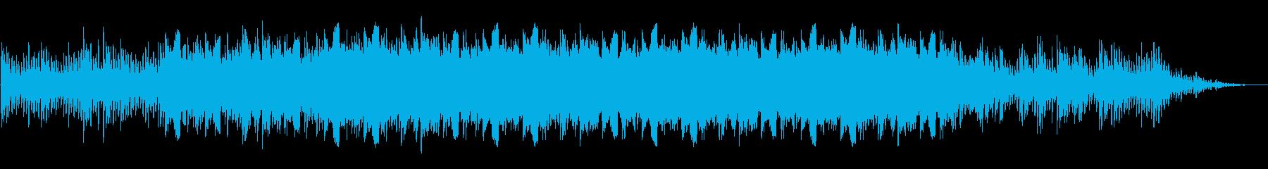 満天の星をイメージしたハープのアルペジオの再生済みの波形