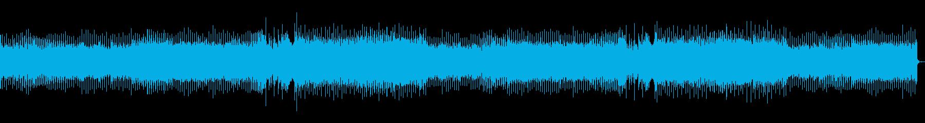 早朝をイメージした曲の再生済みの波形