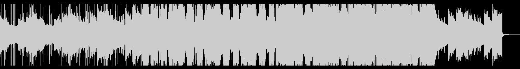 清涼感のあるオルガンPOPSの未再生の波形