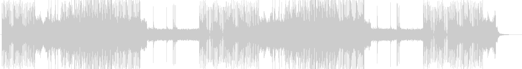 「HR/HM」「DEATH」BGM302の未再生の波形