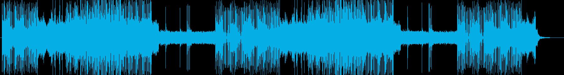 「HR/HM」「DEATH」BGM302の再生済みの波形