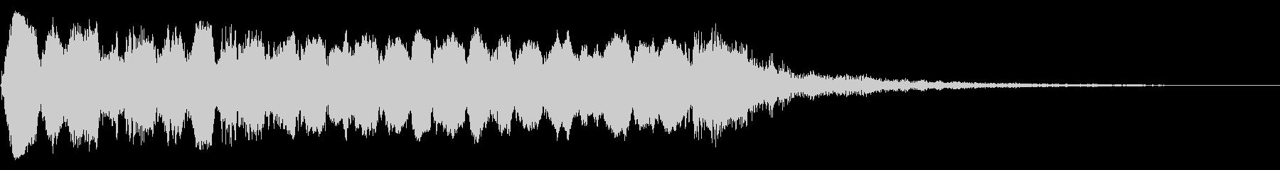 荒々しい トランペット リバーブの未再生の波形