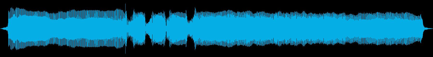 こぶし01(C#)の再生済みの波形