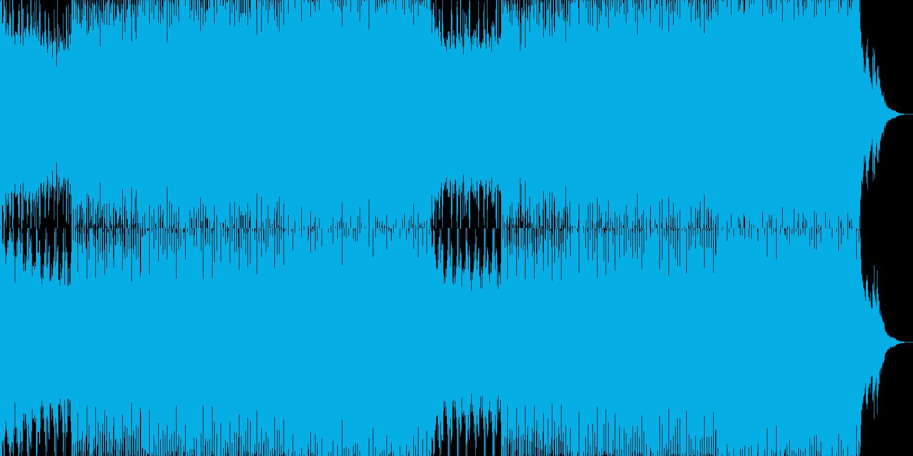 EDMクラブ系ダンスミュージック-94の再生済みの波形