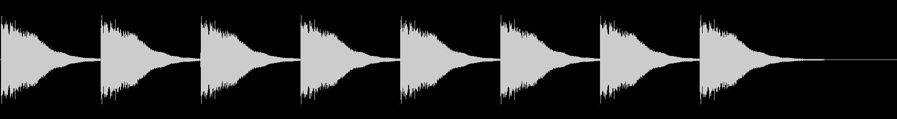 教会の鐘-7-2_delayの未再生の波形