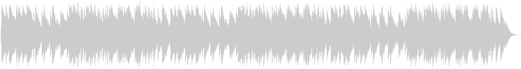 A piece of music box's unreproduced waveform