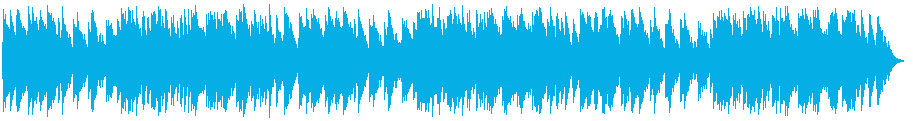 A piece of music box's reproduced waveform