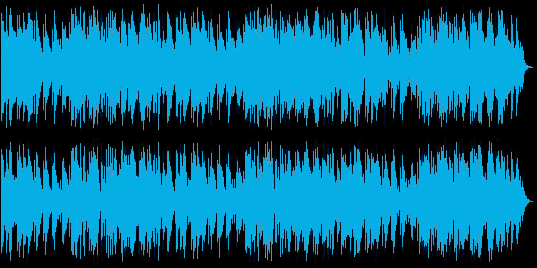 もろびとこぞりて オルゴールの再生済みの波形