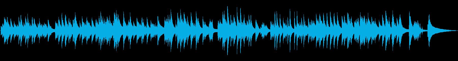 ゆったり落ち着いたラウンジピアノソロの再生済みの波形