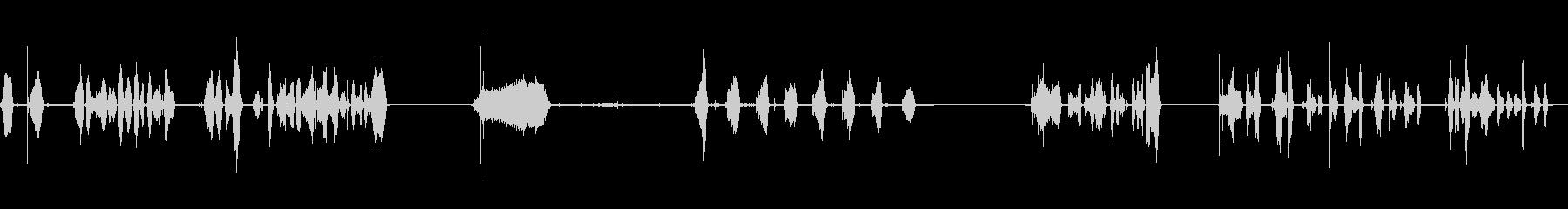 ペン、FELTTIP、書き込み、4...の未再生の波形