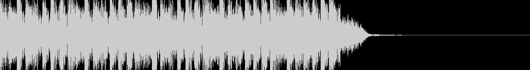 シンキングタイム:テクノダンス10秒の未再生の波形