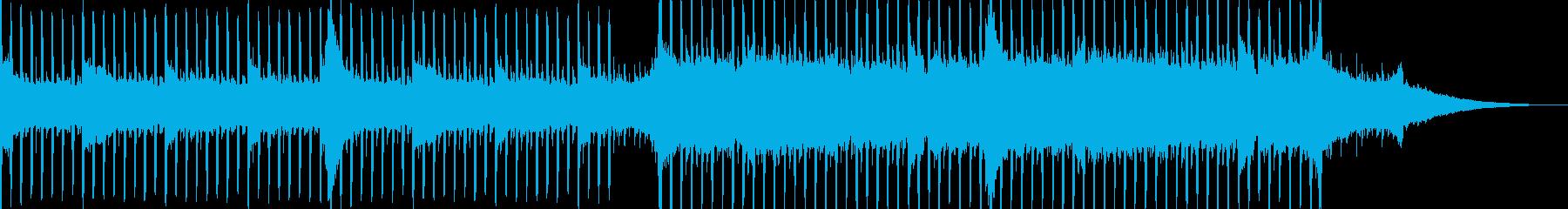 企業VP系37、爽やかギター4つ打ちbの再生済みの波形