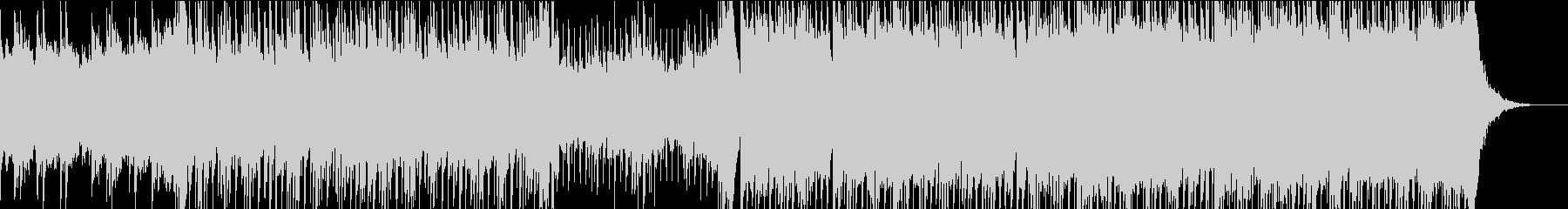 80's シンセウェーブ レトロ 洋楽の未再生の波形
