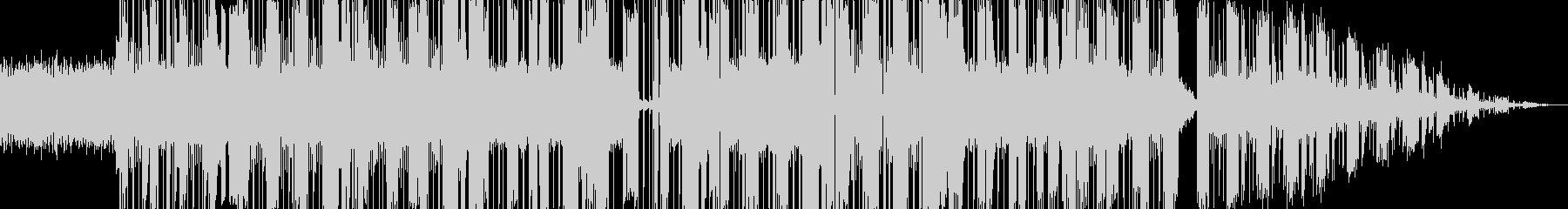 かっこよくて踊れるエレクトロファンクの未再生の波形