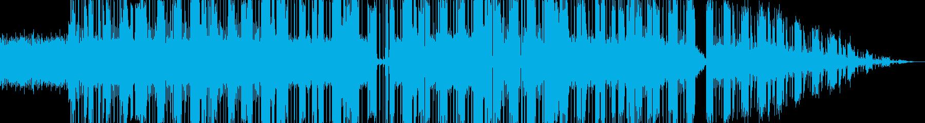かっこよくて踊れるエレクトロファンクの再生済みの波形