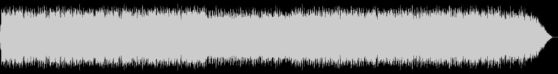 エスニックな竹笛の音楽の未再生の波形