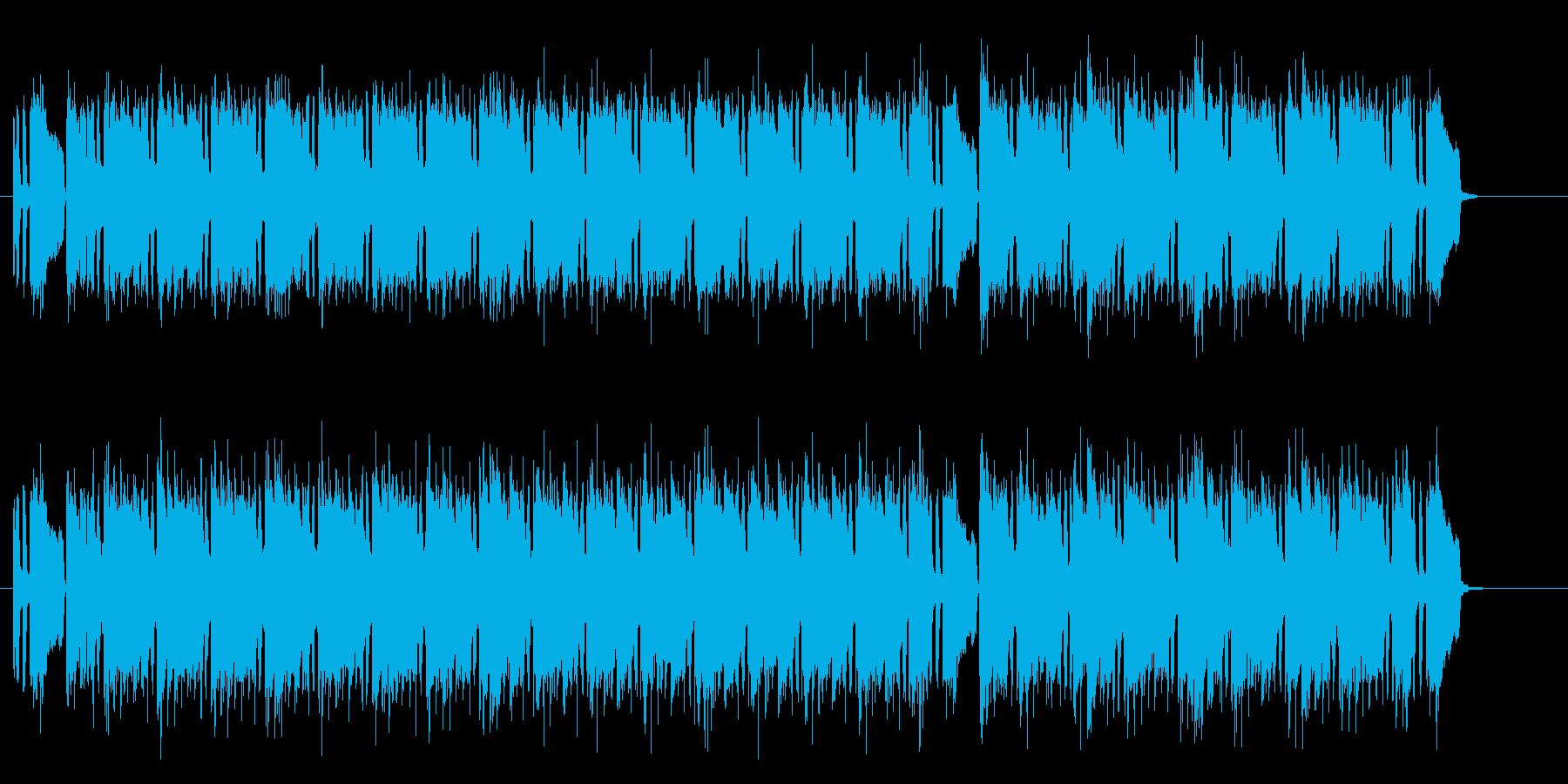 陰影の深いエレクトリックなポップスの再生済みの波形