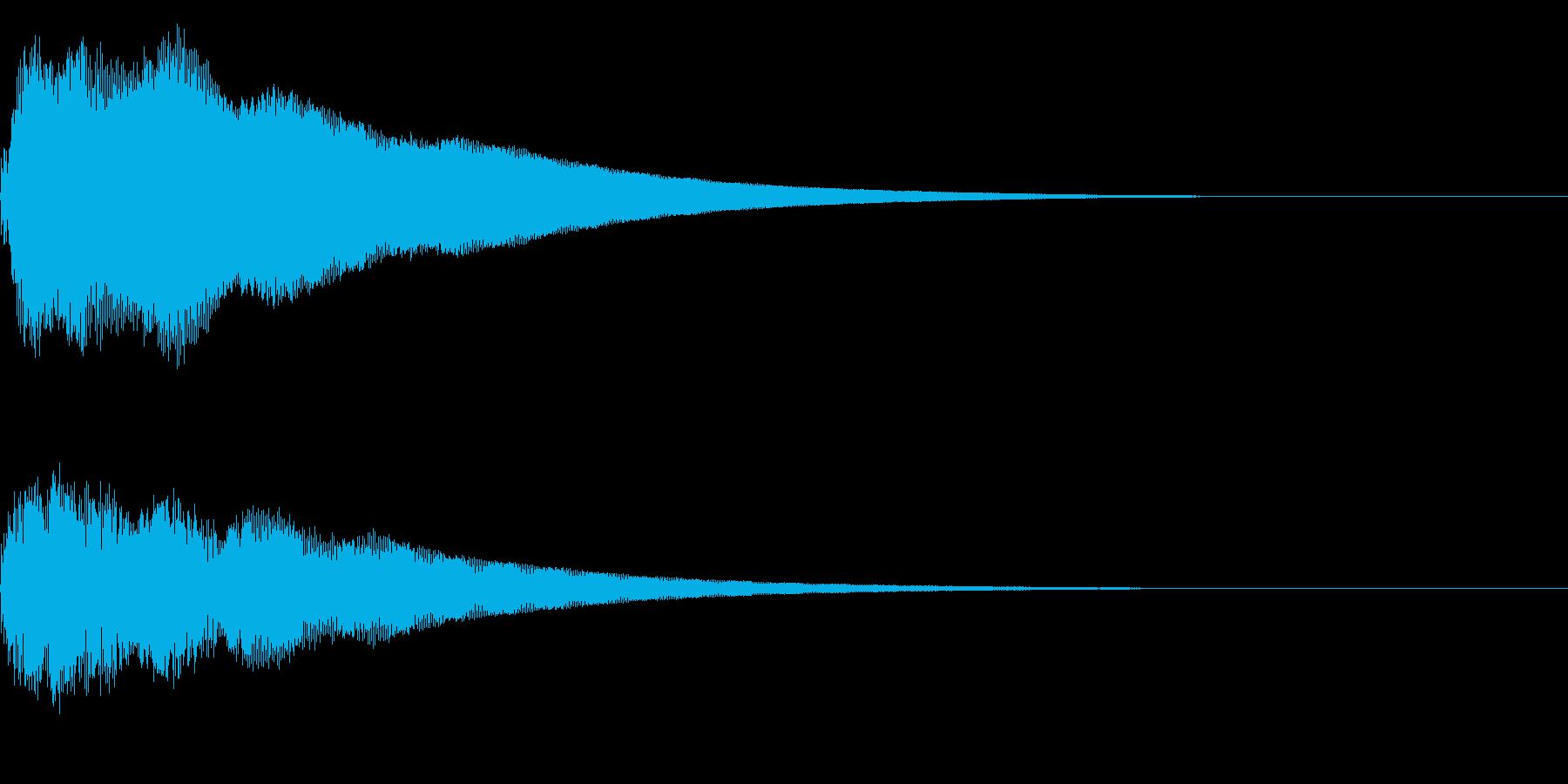 【ゴ〜ン!大晦日】除夜の鐘【日本伝統】2の再生済みの波形