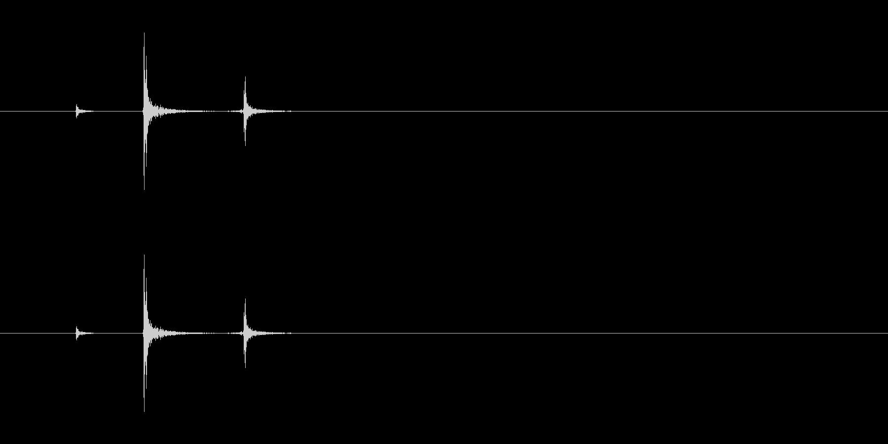 【ホッチキス01-1(留める)】の未再生の波形