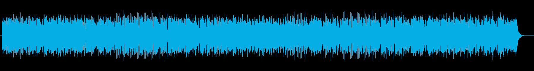 リズム感があり木琴が印象的なテクノの再生済みの波形