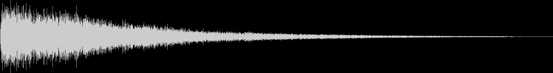 [ドワーン]中国/ドラ/銅鑼/少林寺の未再生の波形