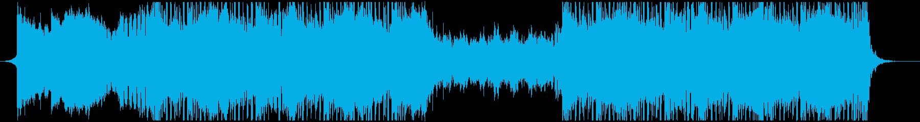 VP系9、クラブ系、クール、オシャレAの再生済みの波形