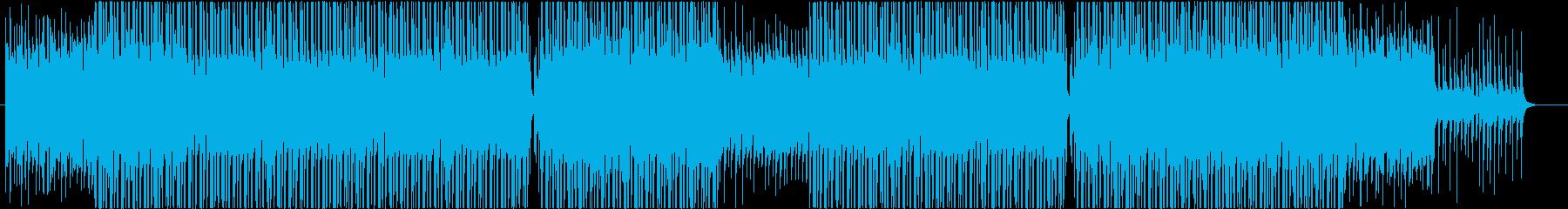 洋楽、レゲエ、トロピカルビート♫の再生済みの波形