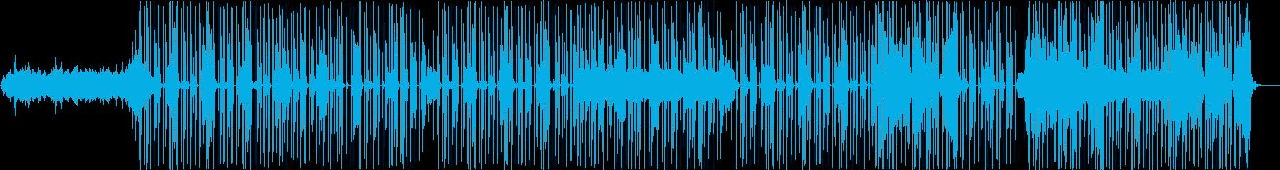 エミネム。ヒップホップ。 R&B。の再生済みの波形