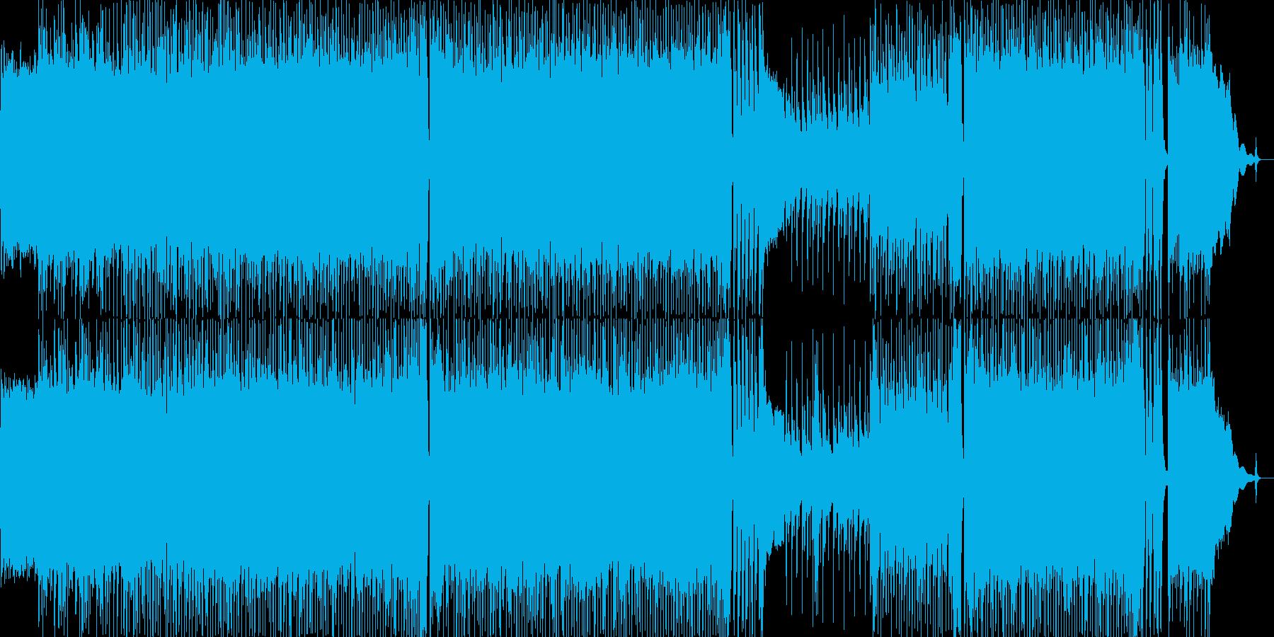 クールな学生らしいロックの再生済みの波形