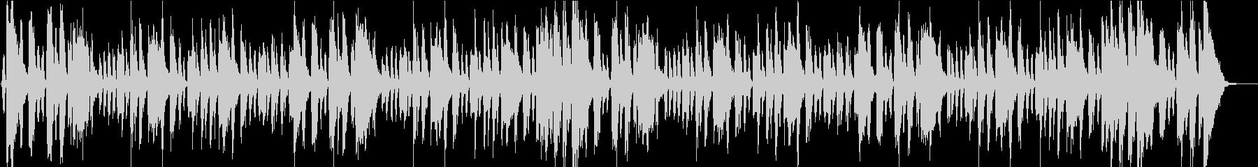 トランペットのファンキーなジングルの未再生の波形