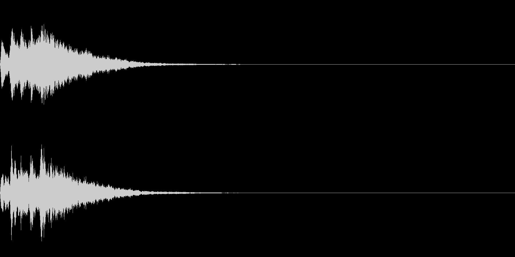 ベル 04(キコンキコン)の未再生の波形
