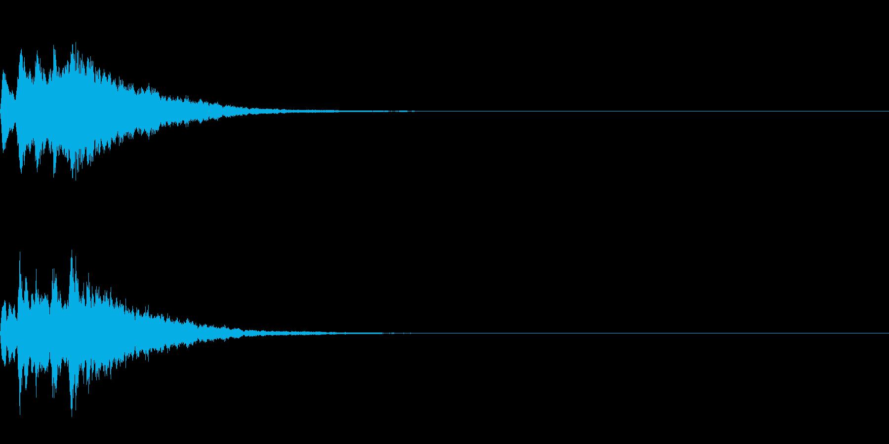 ベル 04(キコンキコン)の再生済みの波形